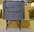 MID-19TH CENTURY CAST IRON STOVE MADE AT THE GETTYSBURG STEAM FOUNDRY