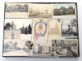 GROUPING OF POST-CIVIL WAR KEARNY, NEW JERSEY POST CARDS/BUTTONS