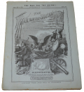 "1864 BOOKLET ISSUED IN SERIAL FORM TITLED ""THE WAR WITH THE SOUTH"" WITH GETTYSBURG MAP"
