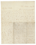 MAY 1864 SOLDIER LETTER—PRIVATE ADAM KREPS, CO. A, 67TH US COLORED TROOPS, TO HIS FATHER