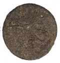 EXCAVATED U.S. GENERAL ISSUE PEWTER UNIFORM BUTTON