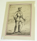 GENERAL JOHN J. PERSHING LITHOGRAPH BY BERNARDT WALL