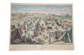 18TH CENTURY EUROPEAN MILITARY CAMP PRINTS, CA. 1770-1780s
