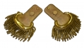 PRE-CIVIL WAR PAIR OF MAKER MARKED MAJOR OF INFANTRY EPAULETTES
