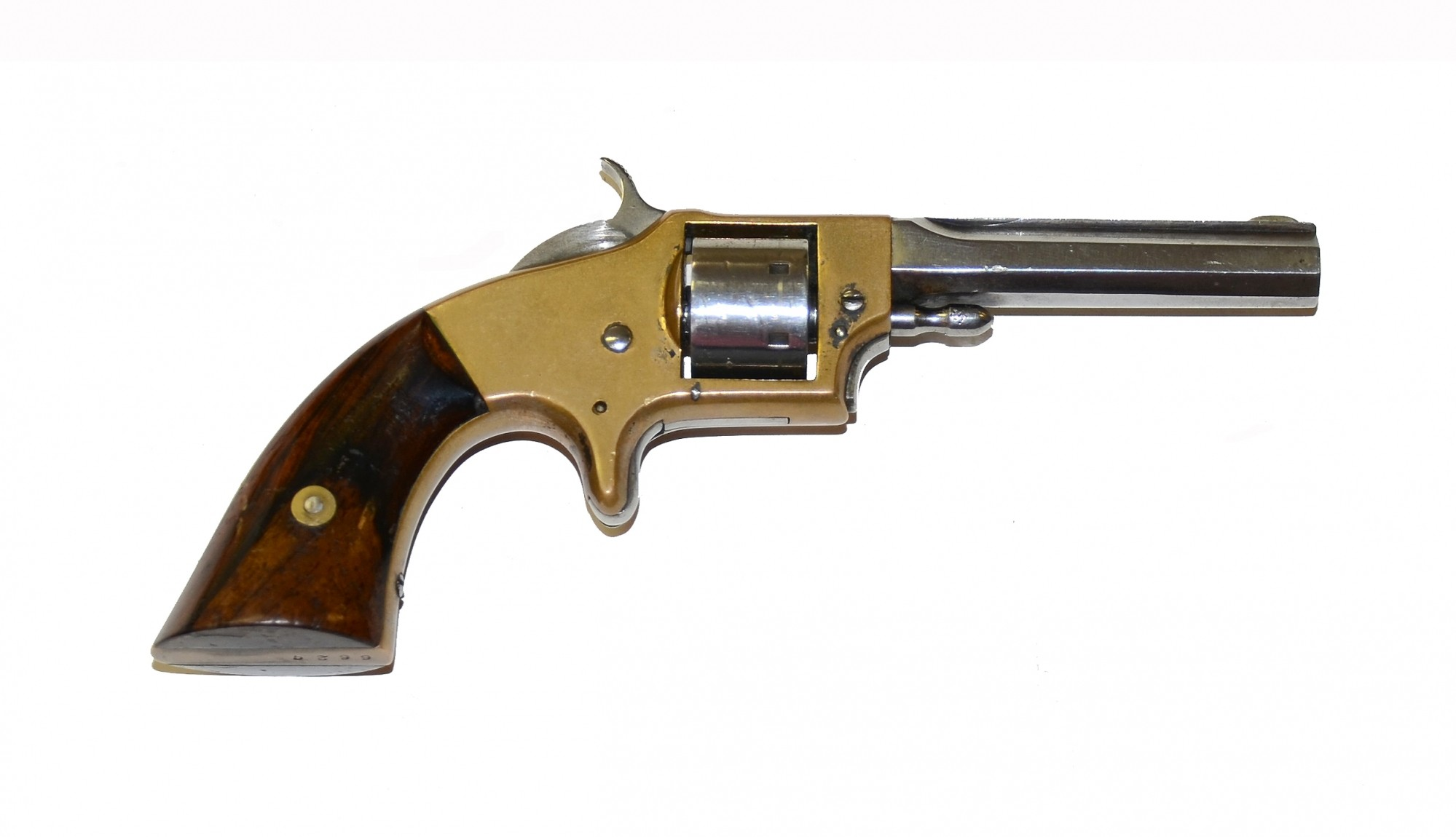 A Solid Rollin White Made Smith Amp Wesson Model Pocket