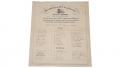 ADVERTISING CIRCULAR FOR ENGRAVING OF SENATE IMPEACHMENT VOTE FOR PRESIDENT ANDREW JOHNSON