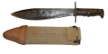 SPRINGFIELD ARMORY MODEL 1910 BOLO KNIFE WITH SCABBARD