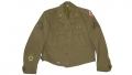 POST-WORLD WAR II OCCUPATION OF AUSTRIA PATCHED IKE JACKET DATED 1948