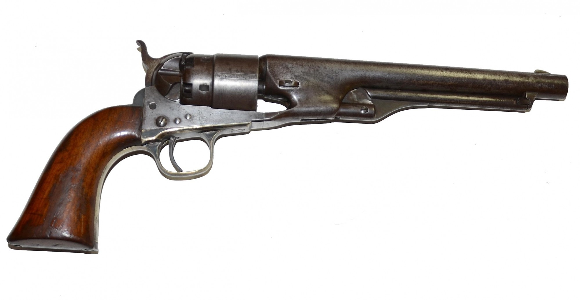 A Fine Civil War Four Screw Colt Model 1860 Army